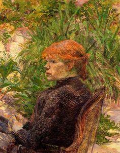 Henri De Toulouse-Lautrec Famous Paintings | de toulouse lautrec french artist 1864 1901 femme de maison