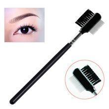 Close-packed Steel Needle Eyebrow Brush Eyebrow Comb Eyelash Extension Beauty Supplies Brow Brush Lash Comb Makeup Tool //FREE Shipping Worldwide //