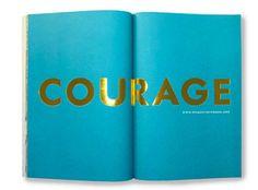 courage #foil spread