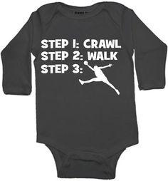 Hey, I found this really awesome Etsy listing at https://www.etsy.com/listing/163932410/crawl-walk-basketball-sports-custom-baby