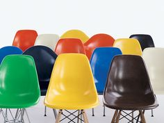 Eames® Molded Fiberglass Chairs - Herman Miller Collection