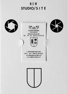 #CorporateDesign für den Fotografen Aatjan Renders vom Studio Laucke Siebein