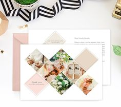 Thank You Card Template   The Wedding Photographer