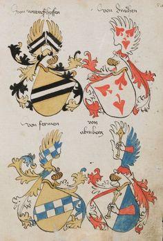 Wappenbuch des St. Galler Abtes Ulrich Rösch Heidelberg · 15. Jahrhundert Cod. Sang. 1084  Folio 80