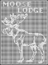 moose lodge crochet afghan pattern