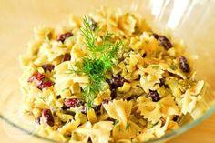 sałatka z makaronem Pasta Salad, Risotto, Macaroni And Cheese, Salads, Spaghetti, Ethnic Recipes, Food, Poland, Ears Of Corn