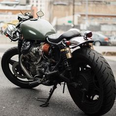Honda Cafe Racers — Great picture of this Honda cx500 by...