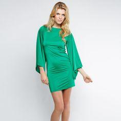 Rosalba Butterfly Sleeve Mini Dress