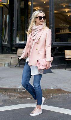 Pink on pink street