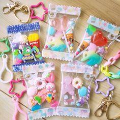 写真の説明はありません。 Diy Resin Crafts, Diy And Crafts, Arts And Crafts, Kawaii Crafts, Cute Crafts, Kawaii Jewelry, Magical Jewelry, Rainbow Crafts, Back To School Supplies