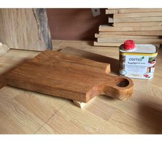 Wooden Chopping Board finished with Osmo TopOil Satin 3028. Project By @ingrainedwoodworkuk (IG)
