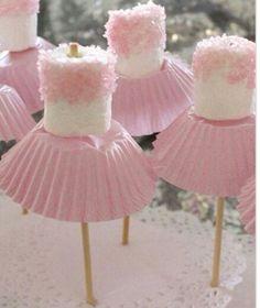 Ballerina marshmallow
