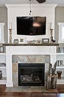 Shiplap Fireplace Makeover with reclaimed wood mantle and Built-Ins… Fireplace Built Ins, Shiplap Fireplace, Farmhouse Fireplace, Home Fireplace, Fireplace Remodel, Fireplace Surrounds, Fireplace Ideas, Mantle Ideas, Fireplace Mantels
