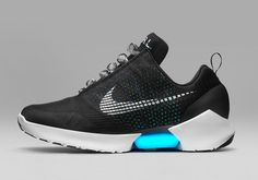 Ever since Back to the Future II, people have wanted shoes with power laces. Well, it's happened. Nike has finally put power lacing in real shoes. In real life. As in, you'll actually be able to buy them. And you'll never have to tie a shoelace again. The Nike HyperAdapt 1.0 will be the first real Nike shoe to implement the adaptive lacing tech and it's supposed to work just like it did for Marty McFly. Put them on and it magically tightens up around your feet.