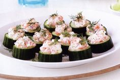 Cucumber Cups With Salmon Tartare Recipe - Taste.com.au