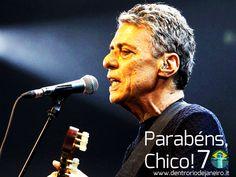 70 years of Chico Buarque. #brazil #samba