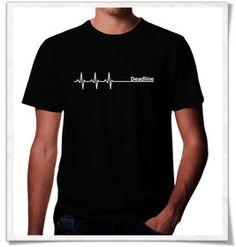 Deadline ;) by Picopoc / Shirt / T-Shirt.  The real Deadline. Männergeschenke / apparel / print