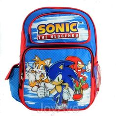 "SEGA SONIC THE HEDGEHOG 16 Large Backpack School Book Bag by SONIC. $19.99. SEGA SONIC THE HEDGEHOG 16"" Large Backpack School Book Bag (JoyAve)"