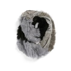 Women's La Fiorentina Genuine Rabbit Fur Infinity Scarf (62.515 HUF) ❤ liked on Polyvore featuring accessories, scarves, tube scarf, rabbit scarves, infinity scarves, infinity loop scarves and round scarf