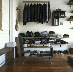 Best organised wardrobe for men!!