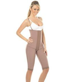 Strapless Body Girdle W/Front Panel to the Knee Ref Body Girdle, Prada, Strapless Bodysuit, West New York, Tummy Tucks, Fitness Diet, Shapewear, Corset, Cocoa