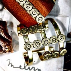 Melvin Bullet cuffs. #melvin #madeinusa #fashion #accessories #jewelry #bullets #cuffs #americanmade #usa #madeinnyc - @melvinjewelry- #webstagram