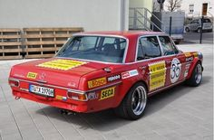 Red Sow - Mercedes-Benz 300 SEL 6.3 (6.8) AMG | Retro Rides