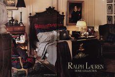 1987 ralph lauren bedroom