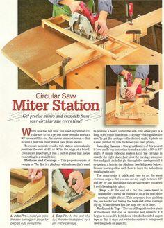 #2380 Circular Saw Crosscut and Miter Jig - Circular Saw