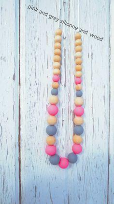 Check out this item in my Etsy shop https://www.etsy.com/listing/222013490/silicone-teething-nursing-necklace
