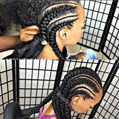 Feed in Cornrows More