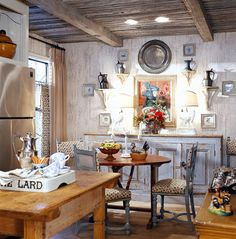 Charles Faudree - Design, Cottage Kitchen