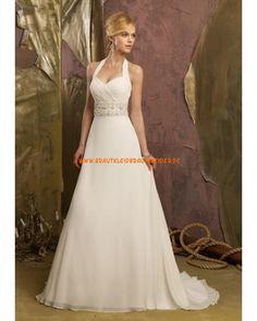 2013 Modisches Brautkleid aus Satin mit Kristall