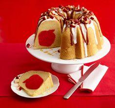 Surprise Caramel Apple Pound Cake