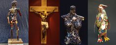 O glamuroso universo das artes nunca foi tão democrático. Feitas a partir de lixo, as esculturas do artista Leo Sewell dão vida a animais, delineiam figuras humanas e formam objetos diversos. Patos…