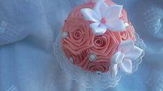MelinetDecorCrochet / Lososová kytička