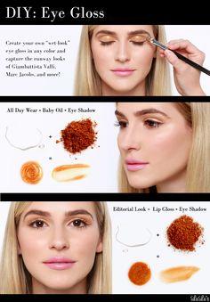 DIY Eye Gloss - Dos métodos! at LuLus.com!