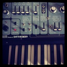 Roland System 100? - Photo by @electro_juice