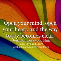 Way to joy quote via www.Facebook.com/ReadLoveandLearn