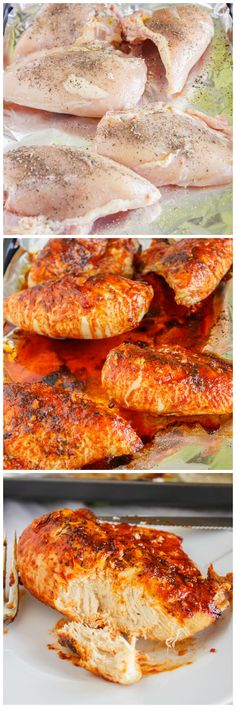 Sweet Sriracha Chicken Breasts! Easy, quick, and hearty!