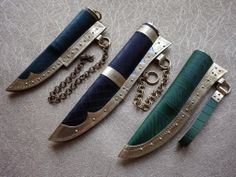 Knife sheaths / Audhumbla