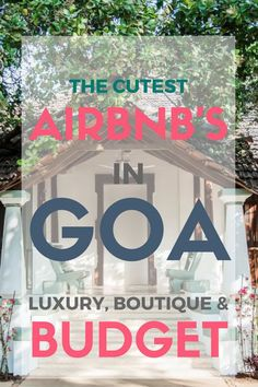 One of the biggest issues with looking for an airbnb in Goa or hotel for that matter is that you don't know the location THAT WELL of where you are going. It's hard to say if the suburb or in Goa's case, village, is going to be near to what you want. It can take a lot of time to map this out and in general find a house in Goa that you think will work well.  Luckily, I'm here to help you find a house in Goa using airbnb!  There's SO much online about it from rental companies - this will help!
