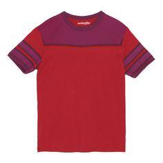 Marvel Comics X-Men Magneto Adult Costume Ringer T-shirt - Maroon #easy #halloween #cosplay