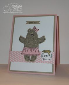 The Stampin' Bunny: Bear Hugs Stampin' Up! Set Card
