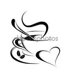 Coffee Love Vector