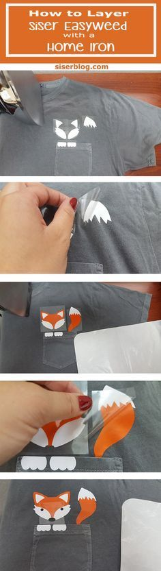 How to Layer Siser EasyWeed™ with a Home Iron using EasyWeed™ Scraps.siserblog.com. Silhouette Cameo project. Cricut Project. Brother Scan n Cut project. iron on vinyl. HTV