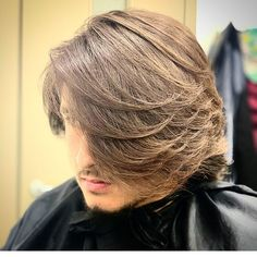 Long Fringe Hairstyles, Cool Hairstyles, Men's Hair, Hair Art, Hair And Beard Styles, Long Hair Styles, Mohawk Mullet, Undercut Pompadour, Disconnected Undercut