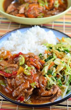 Slimming Eats Slow Cooked Chinese Style Pork Tenderloin - dairy free, Slimming…