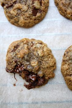 Lily's Kitchen Book: Cookies moelleux au chocolat noir & flocons d'avoine