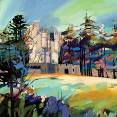 Braemar Castle Limited Edition - ART PRINT BY PAM CARTER, SCOTTISH ARTIST